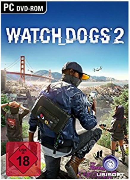 Watchdogs 2 PC auf DVD (Uplay)