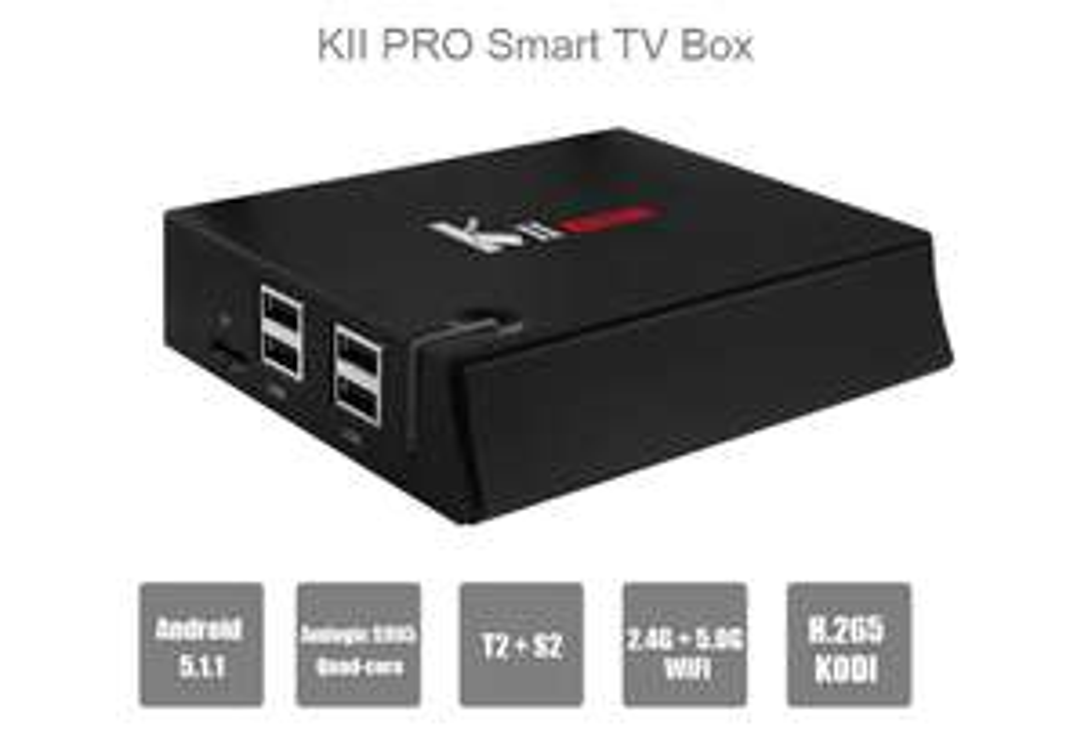 [GEARBEST] KII PRO TV Box Quad Core Amlogic S905 Android 5.1.1 (Vergleichspreis ~ 90€)