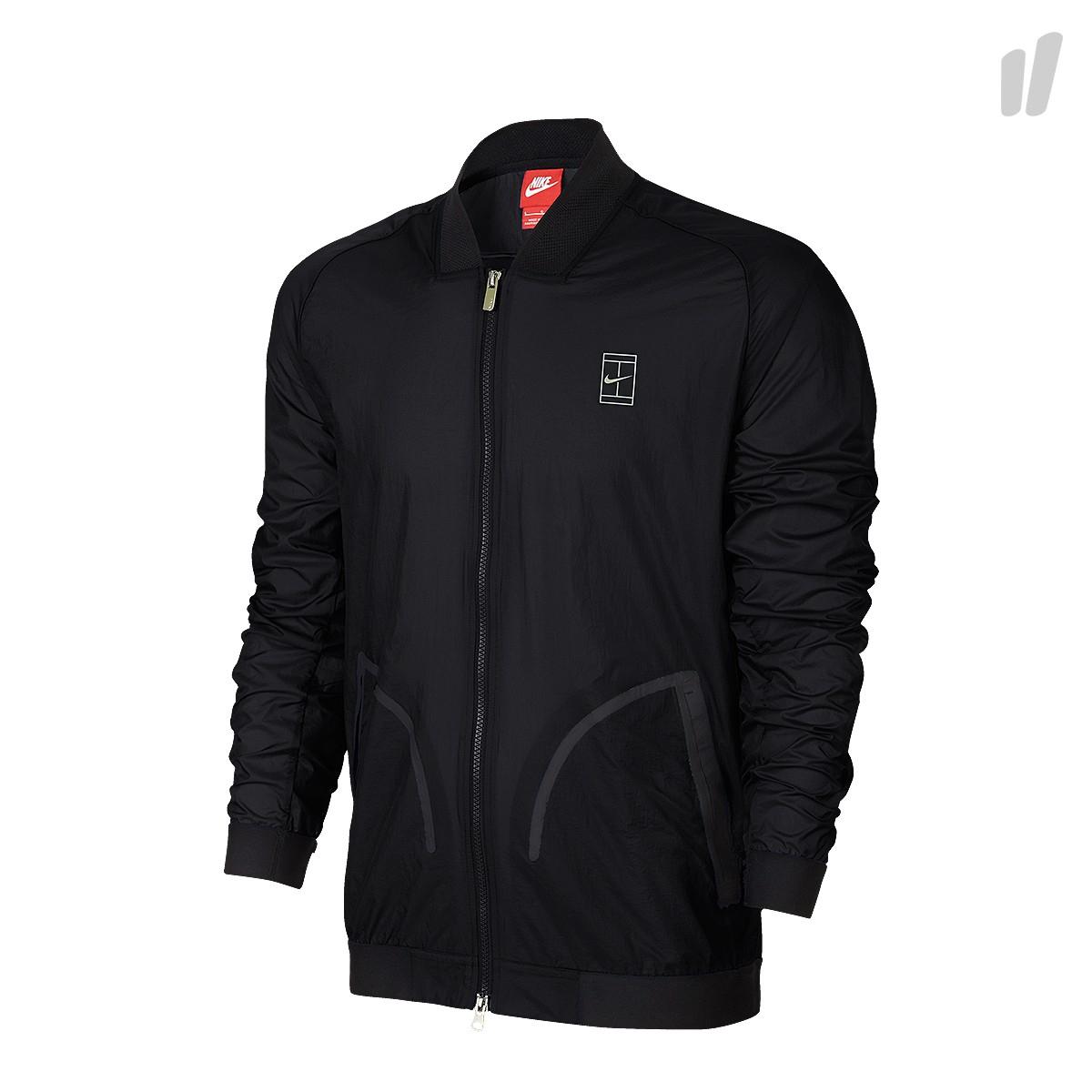 Nike Court Bomber Jacket Schwarz in XL und 2XL für 39,97€ inkl. Versand statt 74,99€ bei HHV.de