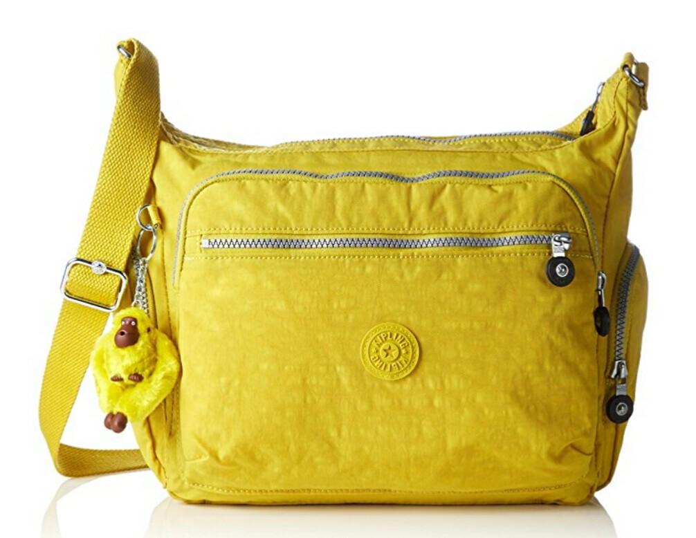 Kipling GABBIE, gelb (auch in anderen Farben, aber teurer)