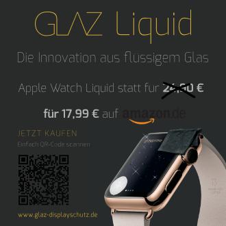 GLAZ Liquid Special für die Apple Watch