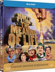 Monty Python's The Meaning Of Life – Zavvi Exclusive Limited Edition Steelbook für 7,13€!