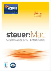 (Amazon) WISO steuer:Mac 2017 (CD-Version und Download) für 19,99€