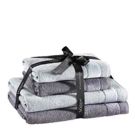[XXXLShop] Vossen Frottierset Handtuchset 2x Handtuch 2x Duschtuch