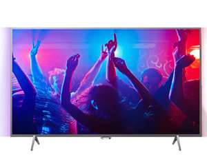 Philips 43PUS6401 4K Ultra HD Ambilight Smart TV, Grade A Refurbished