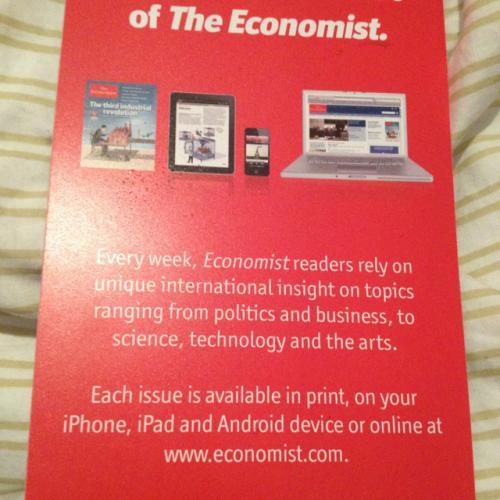 The Economist kostenlos!