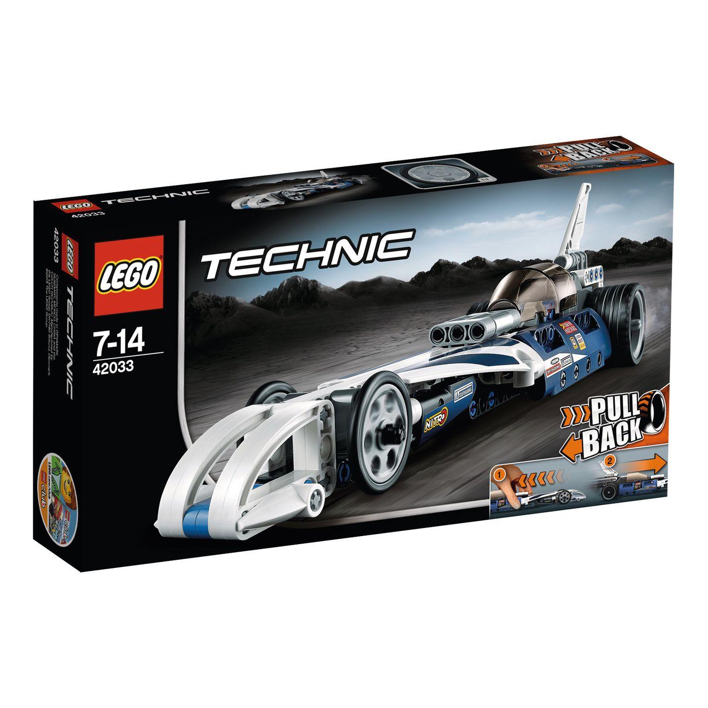 Lego Technic Action Raketenauto 42033 für 4,95€ zzgl. VSK anstatt 19,99€