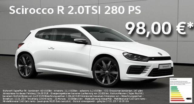 VW Scirocco R 2.0TSI 280PS 98,00 EURO / 24Monate Geschäftskunden