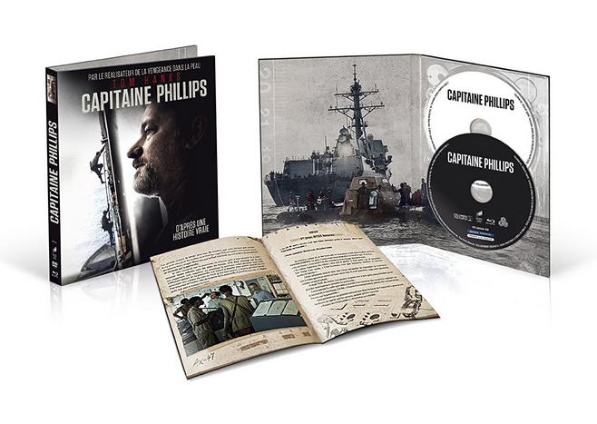 (Amazon.fr) Captain Phillips - Collector's Book (Blu-ray + DVD) für 9,78€
