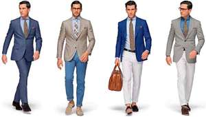 [suitsupply.com OUTLET] viele Anzüge/Jackets/Accessoires 50% off
