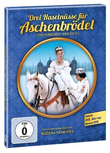 Amazon.de: Drei Haselnüsse für Aschenbrödel – Media-Book (2 DVD / 1 BD) – limitierte Sonderausgabe