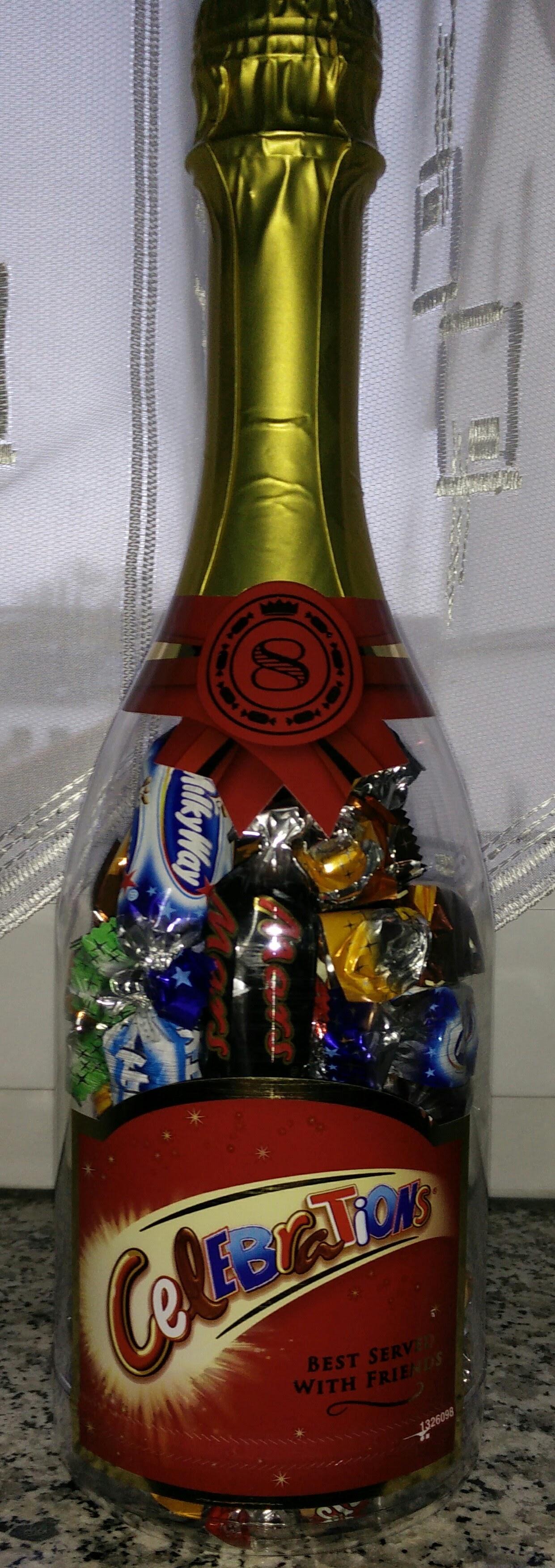 "[Penny Alzey] Abverkauf Mars Celebrations ""Sektflasche"" 320g"