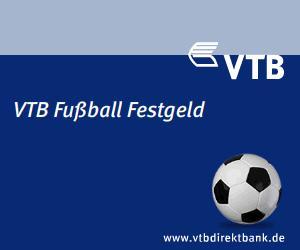 VTB Festgeld für 10 Jahre mit 4% Zinsen + evtl. 20% Bonus  + 30€ KwK