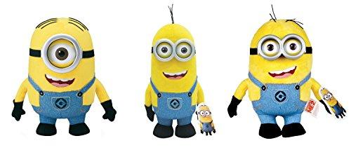 Drei Minion Plüschfiguren (22 - 27cm) für 10,43€ mit [Amazon Prime]