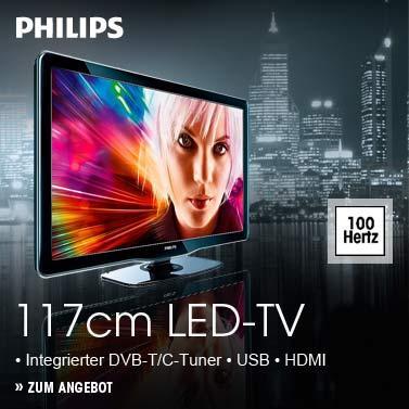 Philips 46PFL5606H/12 LED Fernseher, 117 cm (46 Zoll), Full-HD