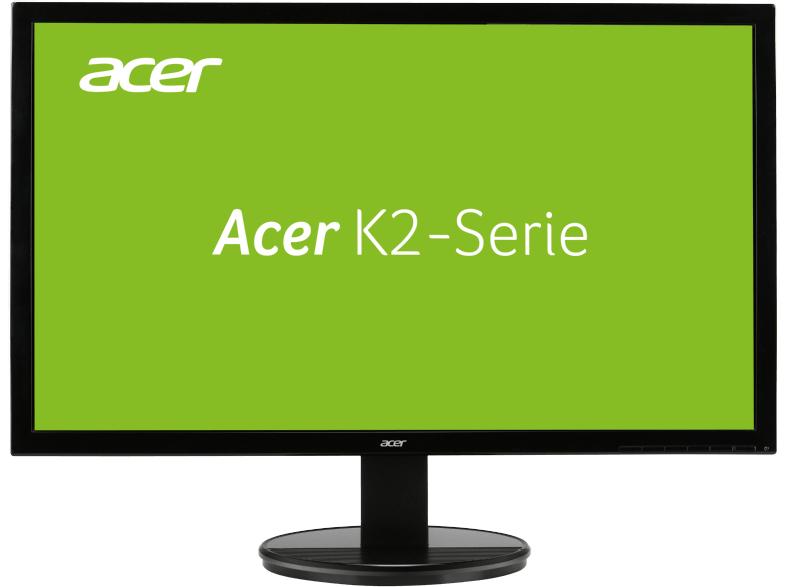 [Saturn Late Night] ACER K242HLBID, Monitor mit 61 cm / 24 Zoll Full-HD Display, 5 ms Reaktionszeit, Anschlüsse: 1x VGA, 1x DVI (w/HDCP), 1x HDMI für 99,-€ Versandkostenfrei