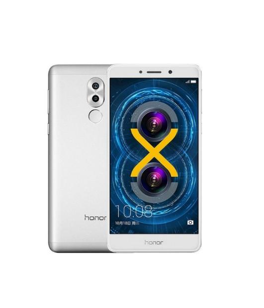 "(mit 0% Finanzierung bei NBB) Huawei Honor 6X 32GB 3GB RAM Silber [13,97cm (5.5"") FullHD-Display, 2.1GHz OctaCore-CPU, 12MP Dual-Kamera]"