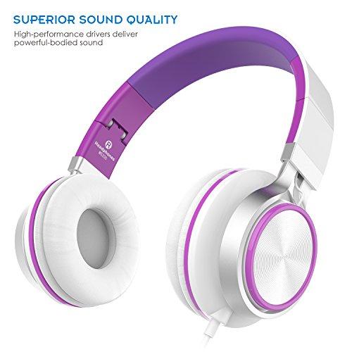 Sound Intone MS200, faltbarer On-Ear Hi-Fi Kopfhörer für 6,99€