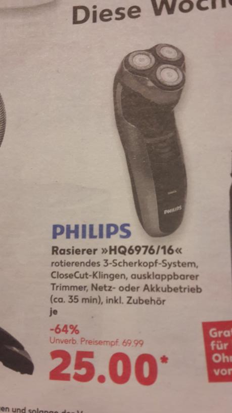 Rasierer  Philips HQ6976/16 Kaufland