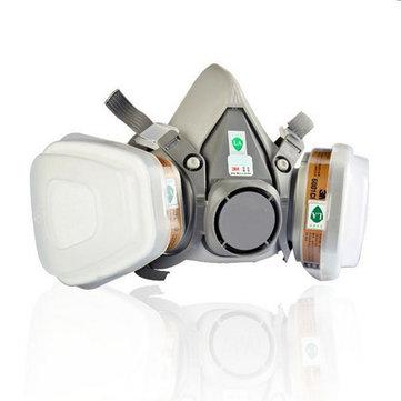 6200 N95 Doppelgasmaske @ Banggood