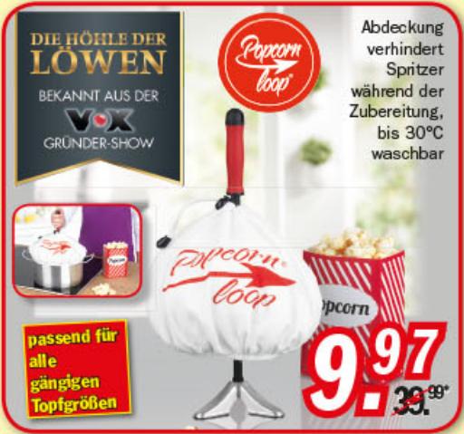 Popcornloop Popcornmaker kommende Woche für 9,97€ bei Zimmermann