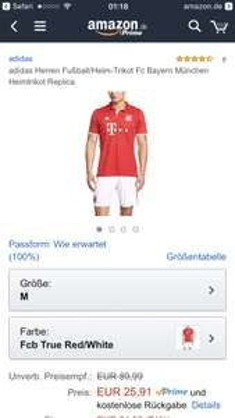 Bayern München - Heimtrikot 2016/17