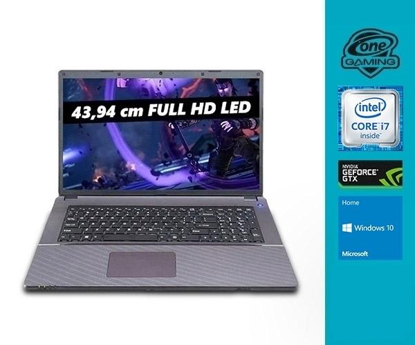 """[One] ONE GAMING K73-6F1 17.3 """" / 43.94 cm (1920 x 1080) FHD Display, i7-6700HQ, 8 GB DDR4, 128 GB SSD Samsung CM871a / 500 GB HDD, GTX 950M 2 GB GDDR5"""