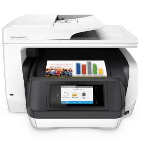 HP OfficeJet Pro 8720 für 179€ - 50€ Cashback bei Notebooksbilliger - A4, Drucker, Scanner, Kopierer, Fax, WLAN, LAN, NFC, Duplex ab 18 Uhr
