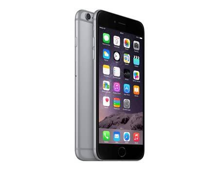 "APPLE iPhone 6 Plus, Smartphone, 4G LTE, 5,5"" (14 cm) 1.920 x 1.080 Pixel Retina HD, 16 GB, 8 MP (1,2 MP Vorderkamera), Ohne Simlock, NEU & OVP, Space-grau [Kontra / Allyouneed]"
