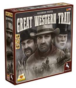 [Hugendubel] Great Western Trail Bestpreis (+weitere im Deal)
