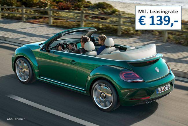 Volkswagen // Beetle Cabriolet // Leasing // ab 139,-€