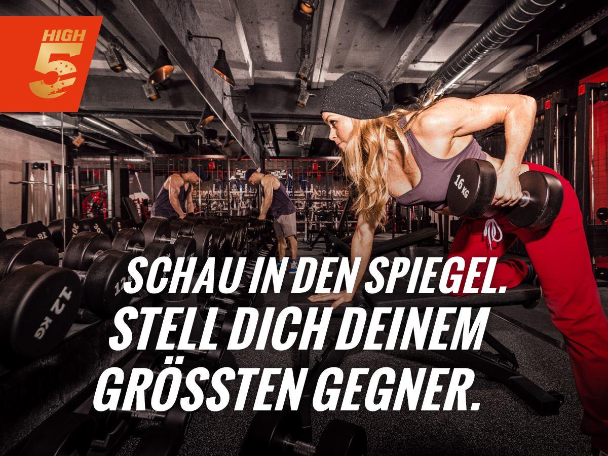 Kostenlose Fitnessstudio-Workouts im Januar bei High5 Gym