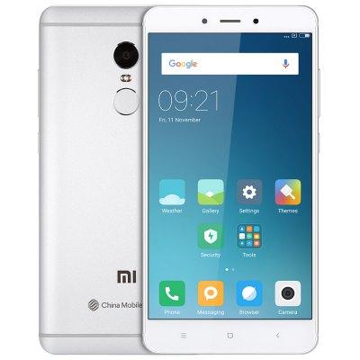 Xiaomi Redmi Note 4 / 3GB / 64GB / Dual SIM in Silber ohne Band 20 [Gearbest]