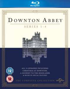 Downton Abbey - Staffel 1-4 (Blu-ray) (OT) für 14,15€