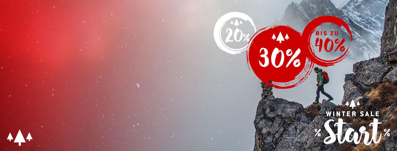 Bergfreunde Wintersale bis zu 65% - z.b. Black Diamond Jacke 104,98