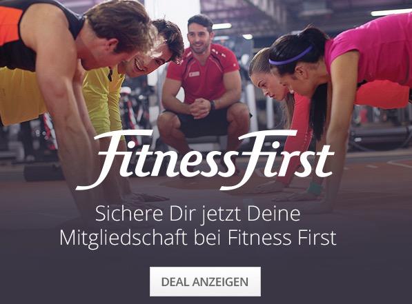 Keine Anmelde- und Verwaltungsgebühr (134,99€ - 259,99€) im Januar bei Fitness First