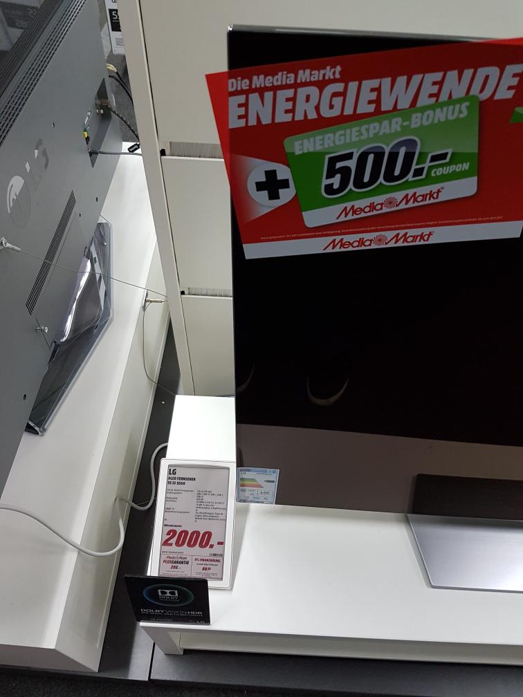 [LOKAL BERLIN] LG OLED 55 EF 9509 Media Markt Gropiuspassagen [eff. 1500€]