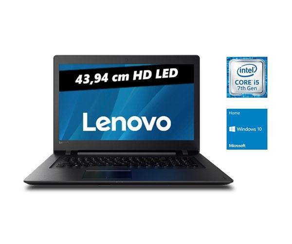 """Lenovo IdeaPad 110-17IKB: 17,3"""" HD+, Intel® Core i5-7200U, 8 GB DDR4 Ram, 128 GB SSD, DVD-Brenner, Wlan ac + BT, Win 10 für 507,98 € (One.de)"""