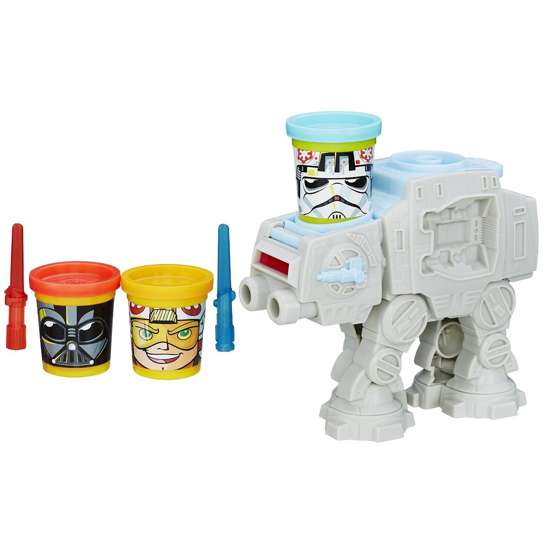 Endlich Knetspaß auch für die Eltern: Play-Doh Star Wars AT-AT [Amazon prime] für 15 statt 21 €