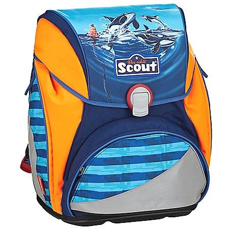 Scout Alpha Schulranzenset 5-teilig mit grosser Sporttasche und Portemonnaie