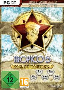 Tropico 5 – Complete Collection (Steam) für 7,13€