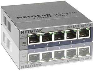 [Amazon Blitzangebot] NETGEAR GS105E-200PES Gigabit Web Managed (Plus) Switch (5-Port) für 16,99 Euro.