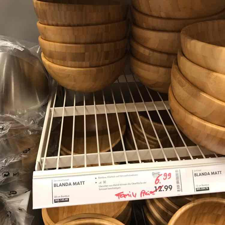 [IKEA BRAUNSCHWEIG lokal?] Ikea BLANDA MATT für 6,99 (nur Ikea Family)
