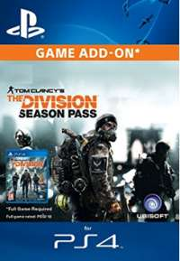 The Division Seasonpass PS4 EU Account