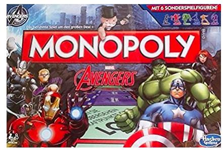 Monopoly Marvel Avengers für 8,99€ bei Abholung @ [GALERIA Kaufhof]