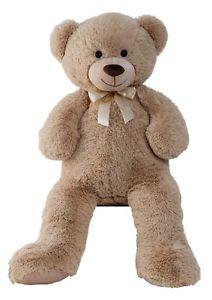 XXL Teddy Bär 1m groß in Hellbraun Plüschtier Teddy 100cm