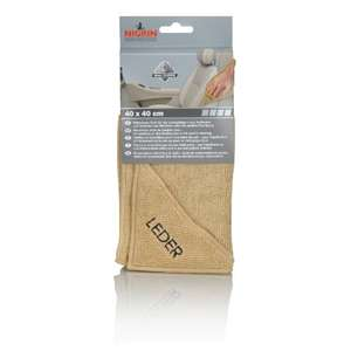 [Amazon-Prime] Nigrin 71115 Microfasertuch Leder 40 x 40 cm