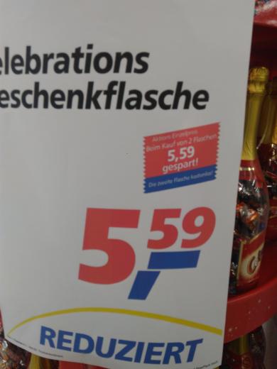 real,- Habenhausen Mars celebrations Geschenk Flasche 2für1