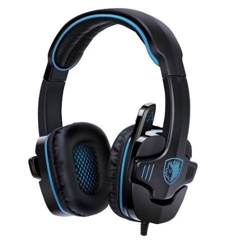 [Amazon Prime] GHB Sades SA-901 7.1CH PC Gaming Kopfhörer (Headset mit Mikrofon)