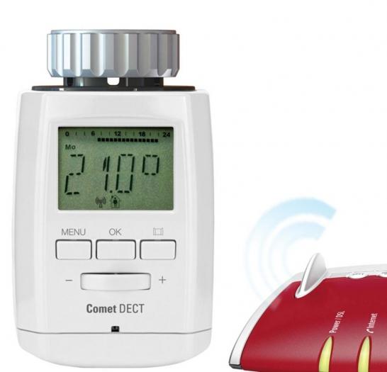 Eurotronic COMET DECT Funk-Thermostat für 37,70 Euro per Sofortüberweisung